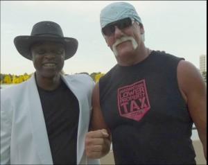Lloyd Marcus & Hulk Hogan