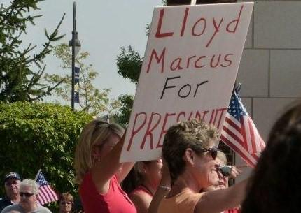 Sign at a Tea Party Express Rally