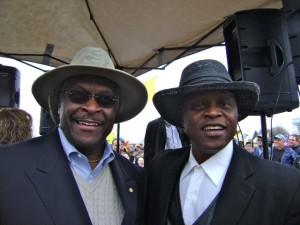 Lloyd Marcus & Herman Cain
