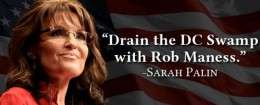 sarah palin for Maness