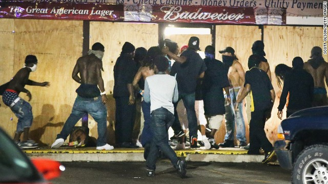 <> on August 15, 2014 in Ferguson, Missouri.