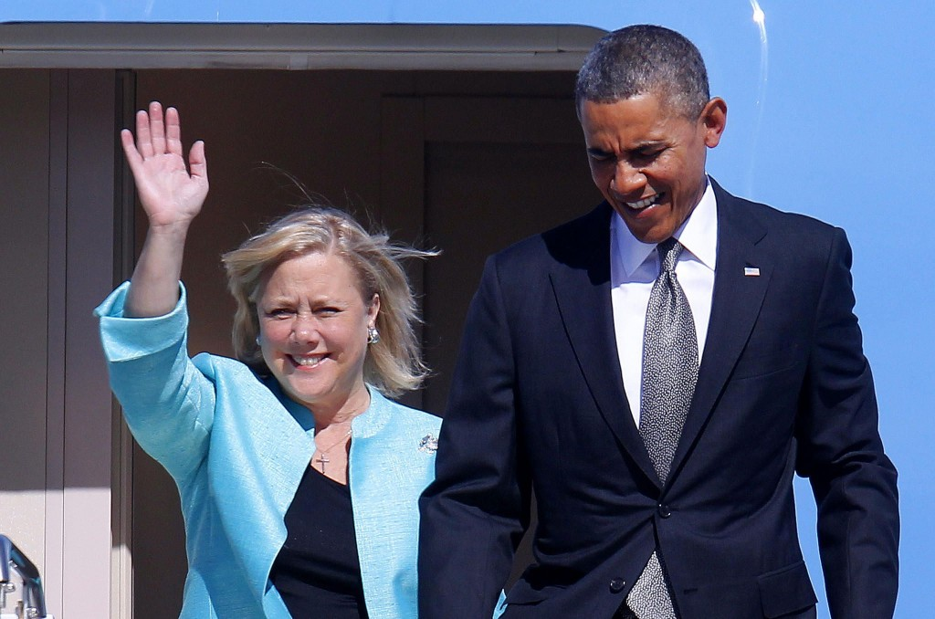 LANDRIEU AND OBAMA
