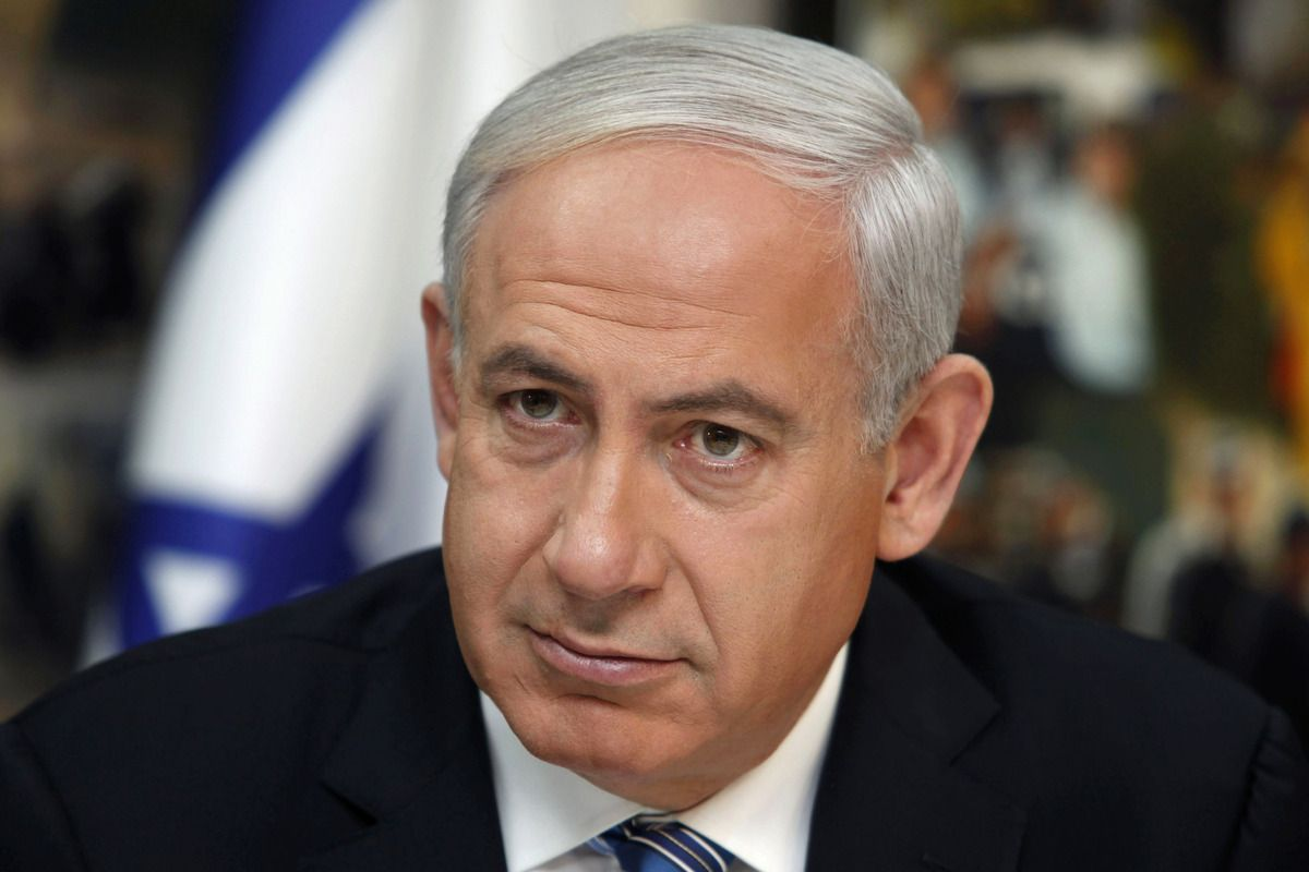 ... leadership, Netanyahu displayed it in spades. This man is totally