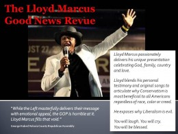 LLOYD MARCUS GOOD NEWS REVUE graphic