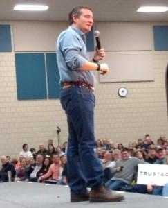 Tead Cruz Rally Iowa 1