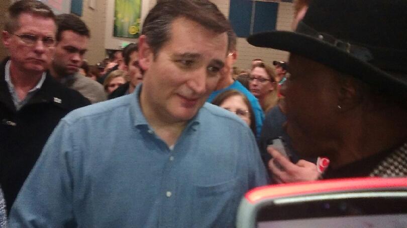 Ted Cruz & Lloyd Marcus Discussion