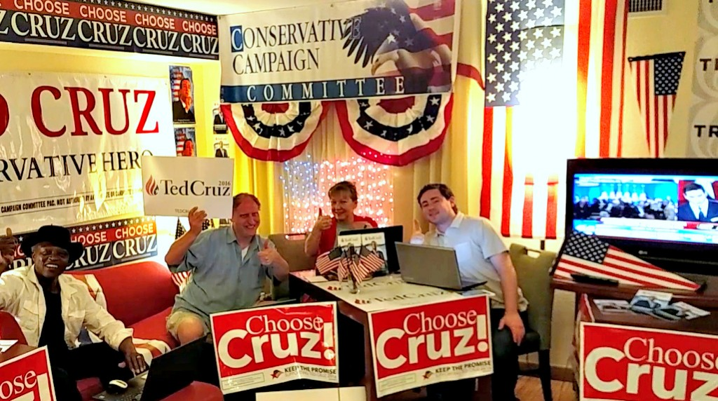 Ted Cruz Louisiana War Room