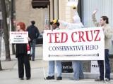 Ted Cruz Wisconsin Fond du Loc CCC Banner