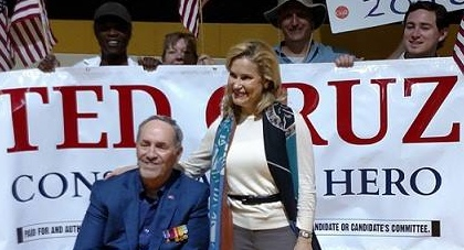 Ted Cruz Heidi NC Rally CROPPED