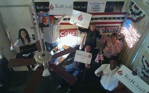 Ted Cruz Wisconsin Milwaukee WarRoomFromAbove