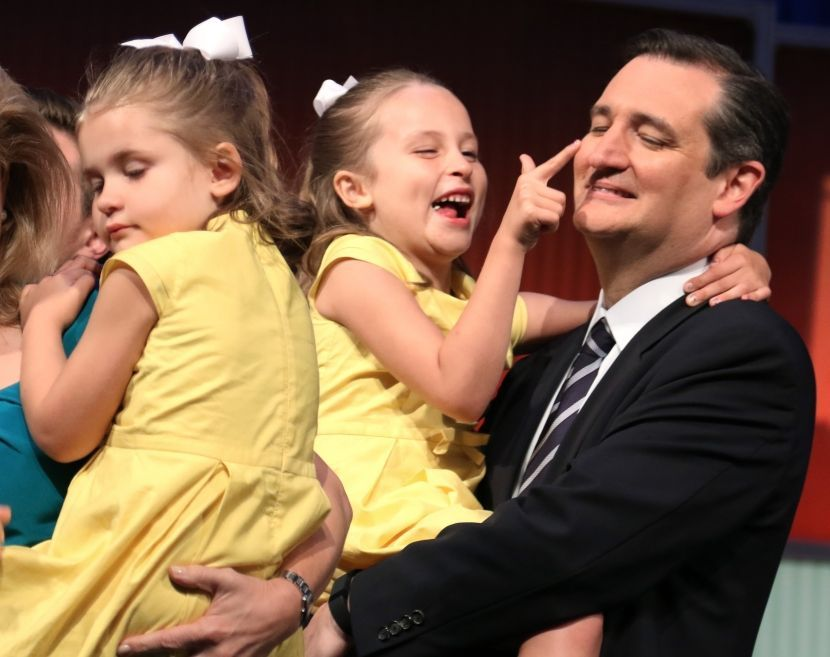 Ted Cruz and his Girls
