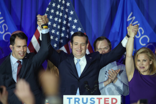 ted cruz wisconsin WIN Scott and Heidi