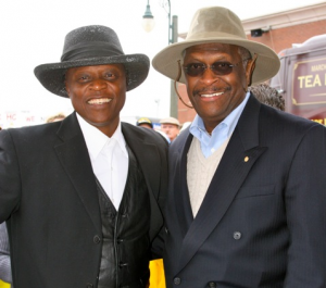 Lloyd Marcus Herman Cain cropped