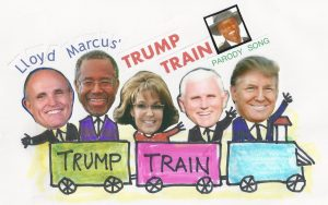 Trump Train Graphic