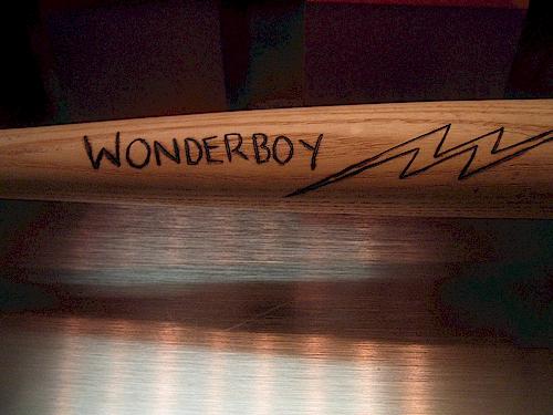 Roy Hobbs Wonder BoyBat